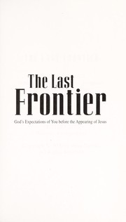 Cover of: The Last Frontier | Jerry Savelle
