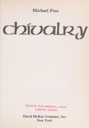 Cover of: Chivalry | Michael Foss