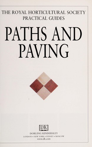 Paths and paving by Royal Horticultural Society (Great Britain)