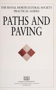 Cover of: Paths and paving | Royal Horticultural Society (Great Britain)