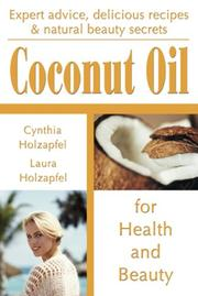 Cover of: Coconut Oil | Cynthia Holzapfel