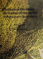 Cover of: Animals of the oceans