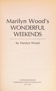 Cover of: Marilyn Wood