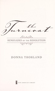 Cover of: The turncoat | Donna Thorland