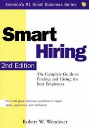 Cover of: Smart hiring