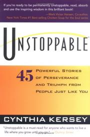 Cover of: Unstoppable