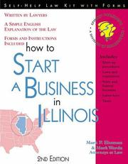 Cover of: How to start a business in Illinois