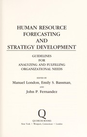 Cover of: Human resource forecasting and strategy development |