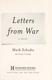 Cover of: Letters from war | Mark Schultz