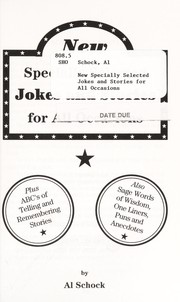 Cover of: New specially selected jokes and stories for all occasions | Al Schock