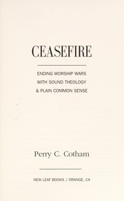 Cover of: Ceasefire |