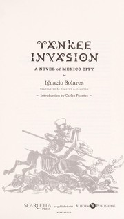 Cover of: Yankee invasion