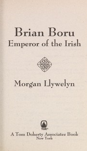 Cover of: Brian Boru, emperor of the Irish