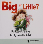 Cover of: Big or little?