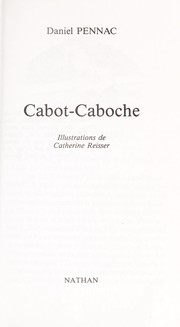 Cover of: Cabot-Caboche