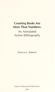 Cover of: Counting books are more than numbers