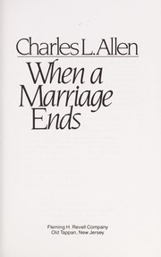 Cover of: When a marriage ends
