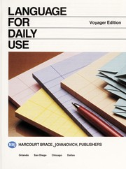 Cover of: Language in Daily Use
