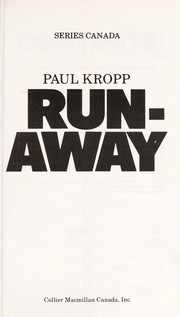 Cover of: Runaway (Series Canada)