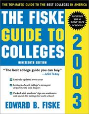 Cover of: The Fiske Guide to Colleges 2003