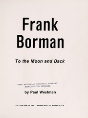 Cover of: Frank Borman