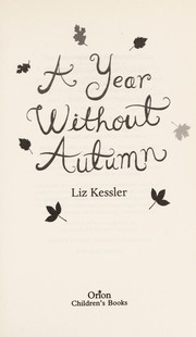 Cover of: A year without Autumn