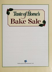 Cover of: Taste of home's bake sale |