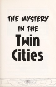 The mystery in the Twin Cities