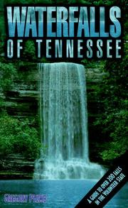 Cover of: Waterfalls of Tennessee | Gregory Plumb