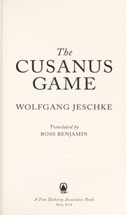 Cover of: The Cusanus game