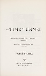 Cover of: The time tunnel |