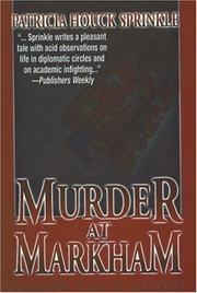 Cover of: Murder at Markham