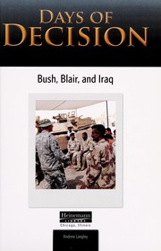 Cover of: Bush, Blair, and Iraq | Andrew Langley