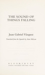 Cover of: The sound of things falling