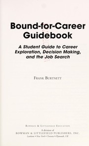 Cover of: Bound-for-career guidebook