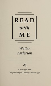 Cover of: Read with me