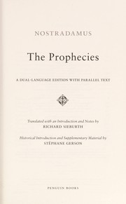 Cover of: The prophecies