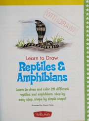 Cover of: Draw and color reptiles & amphibians