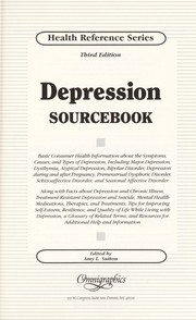 Cover of: Depression sourcebook | Amy L. Sutton