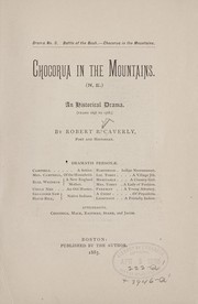 Cover of: Chocorua in the mountains