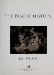 Cover of: The Bible is history