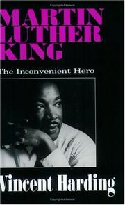 Cover of: Martin Luther King, the inconvenient hero