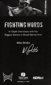 Cover of: Fighting words | Mike Straka