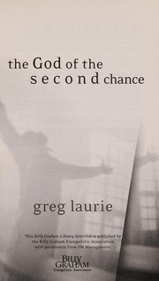 Cover of: The God of the second chance | Greg Laurie