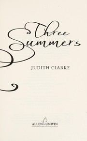 Cover of: Three Summers