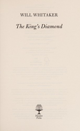 The king's diamond by Weem Whitaker