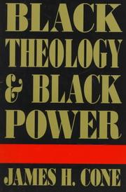 Cover of: Black theology and black power