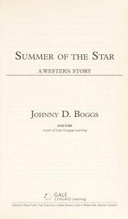 Cover of: Summer of the star