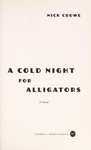 Cover of: A cold night for alligators
