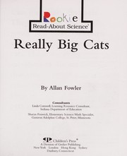 Cover of: Really big cats | Allan Fowler